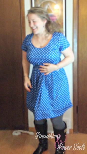 4-blue-polka-dot-dress-after-diy-refashion-funny